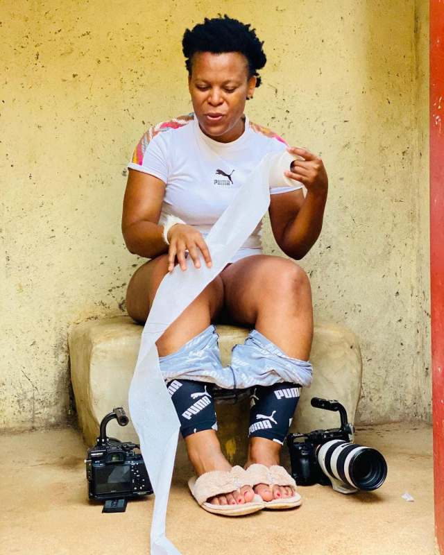 Zodwa Wabantu delivers a special message while sitting on a toilet – Video