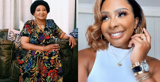 Boity pens a sweet message as she wishes her grandmother a happy birthday