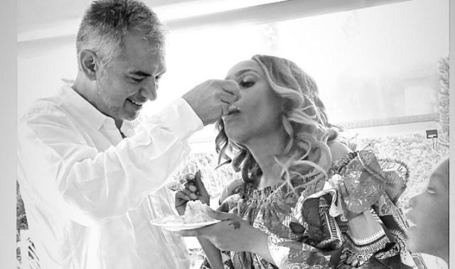 Pics: Inside Actress Mampho Brescia's Vow Renewal