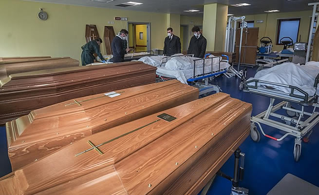 South Africa runs out of coffins