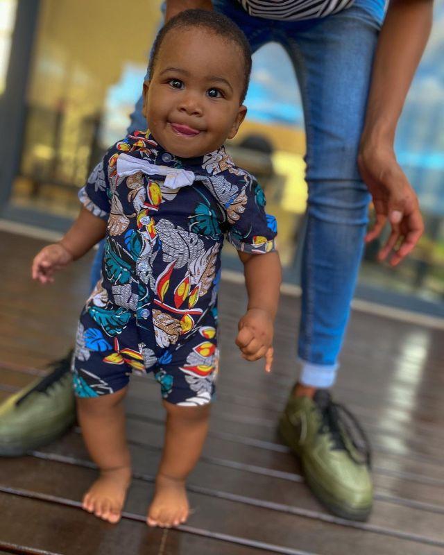 Songbird Cici Gushes Over Her Adorable Son Dialo – Photos