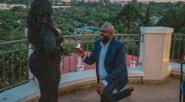 Gospel star Mahalia Buchanan officially off the market after a surprise proposal from bae