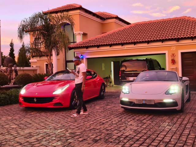Multi-award winner Master KG buys his fan a house