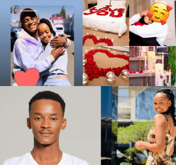 Pics: The Queen actress Ntando Duma and Gomora's Sicelo Buthelezi aka Teddy madly in love