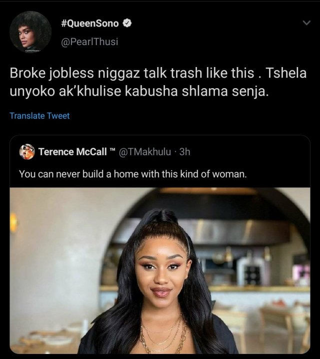 Pearl Thusi Comes Guns Blazing At Tweeps Who Dissed Her Sister