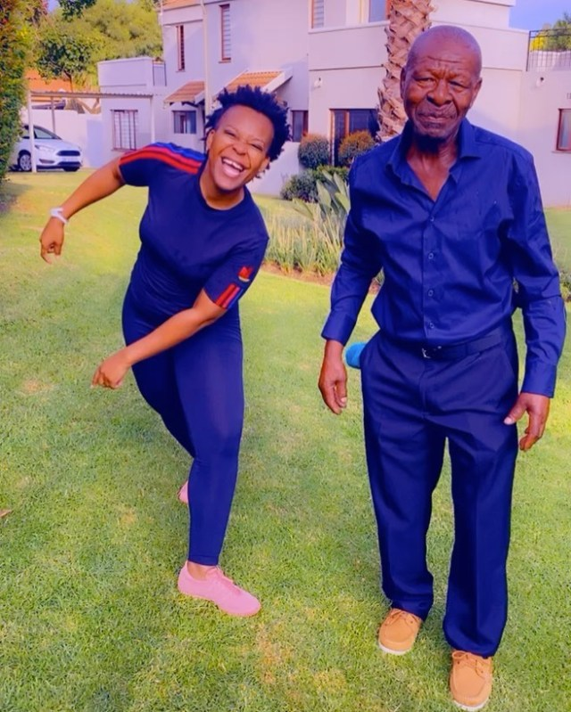 Watch: Zodwa Wabantu spends time with her malume