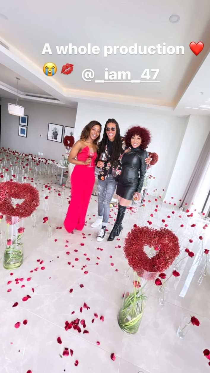 Pics: Khanyi Mbau And Bae Kudzai Heavily Spoil Each Other With Expensive Valentine's Day Gifts