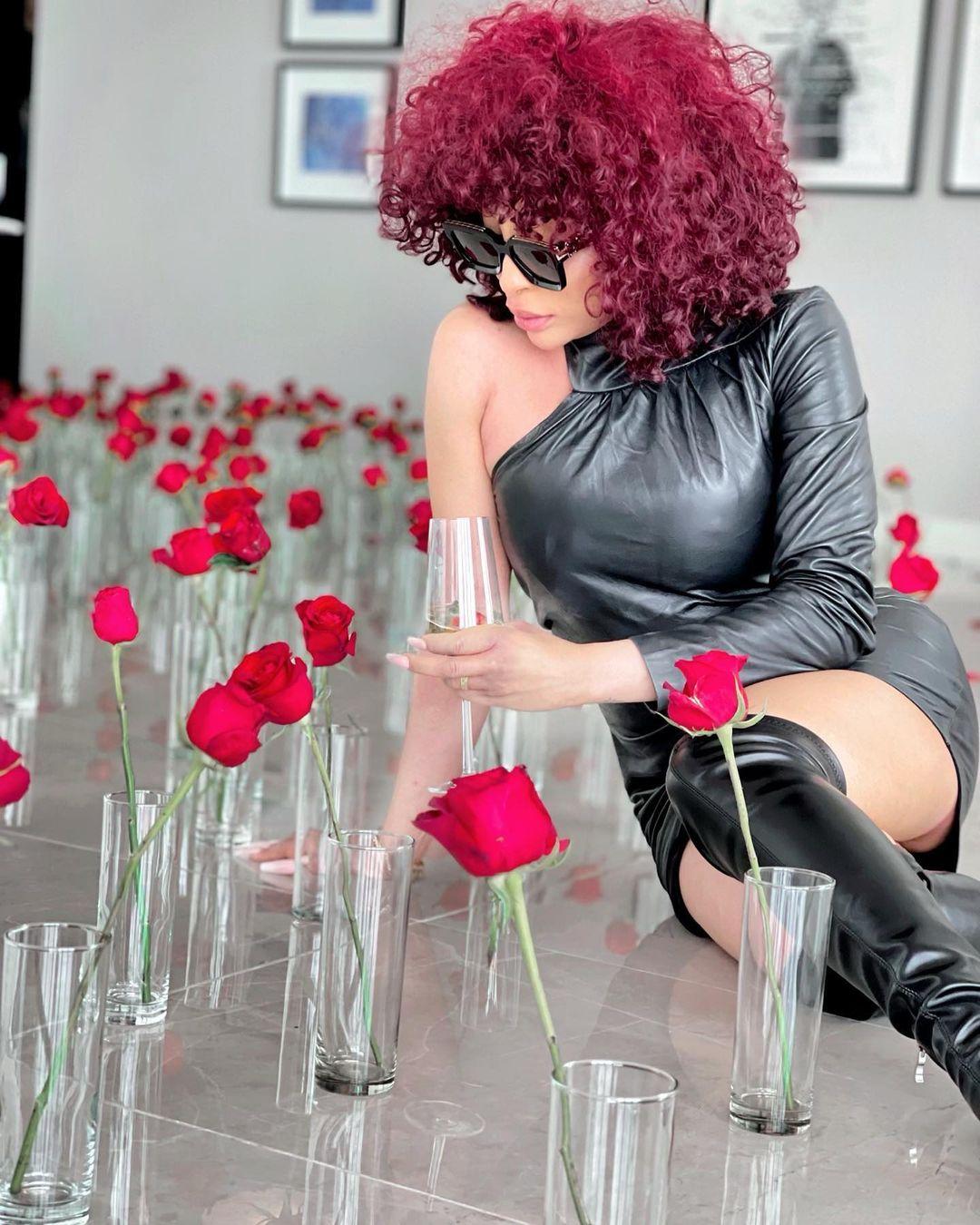 Drama as Khanyi Mbau deletes Instagram account few days after Valentine's day