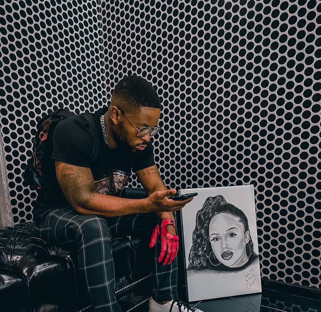 Prince Kaybee Gets A Beautiful Portrait Of Zola