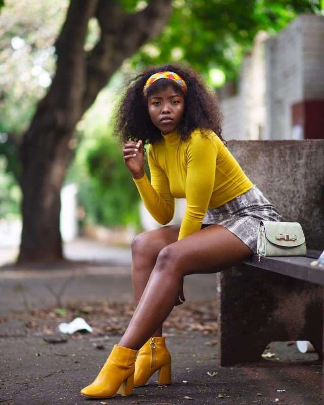 actress Ayanda Nzimande aka Aya's real age leaves Mzansi in shock