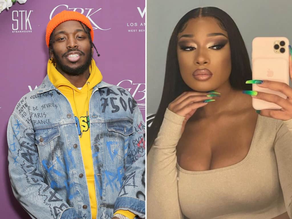 Megan Thee Stallion confirms dating fellow rapper Pardison Fontaine