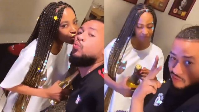 AKA responds after being fired for putting a ring on his 22-year-old sweetheart Nelli Tembe