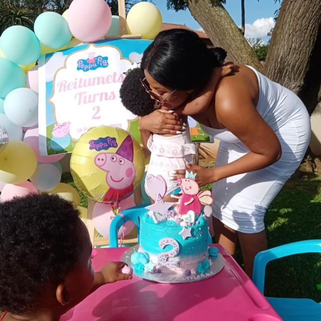 Former Rhythm City actress Amo Chidi celebrates her daughter's 2nd birthday