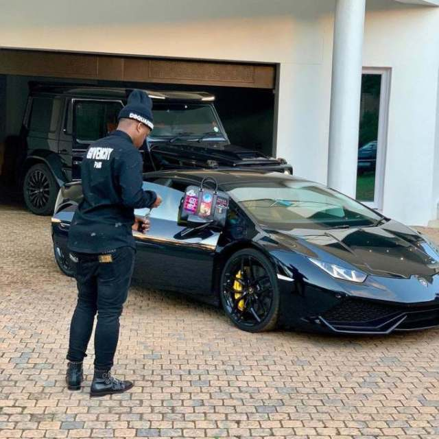 Cars millionaire Shauwn Mkhize's son Andile drives