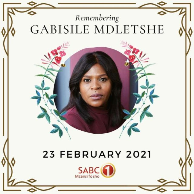 Uzalo's Baby Cele (Gabisile) speaks on her death