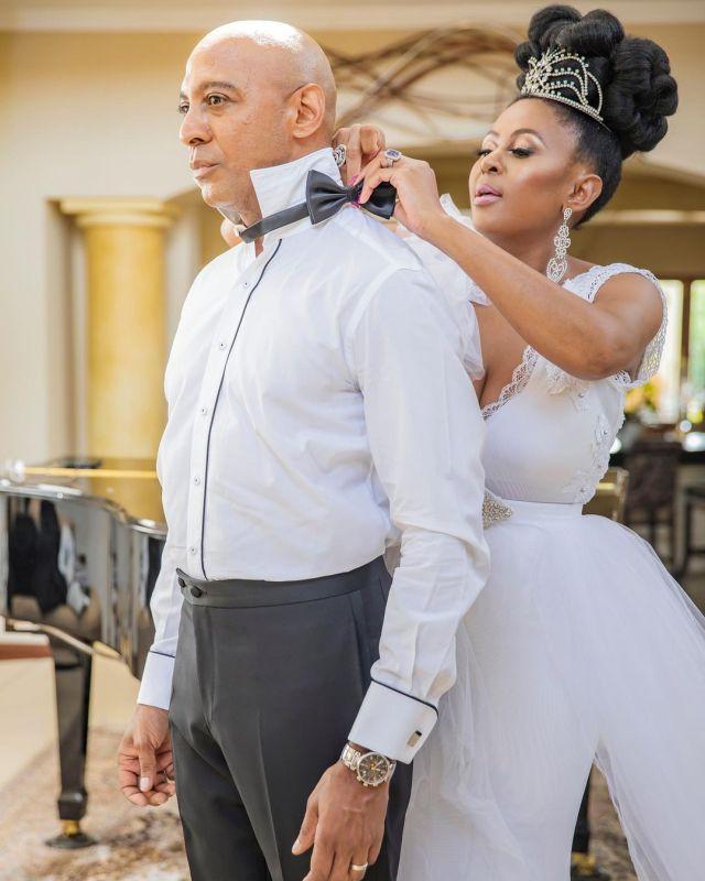 Former Miss SA Basetsana Kumalo Gushes Over Her Husband Romeo Kumalo As He Turns 49