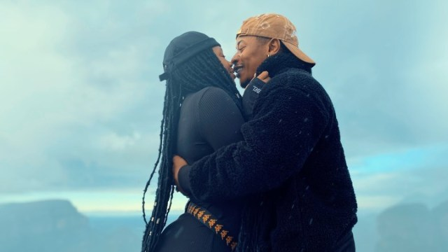 A man who takes care of your late father's grave is a keeper! – Bontle gushes over her hubby Priddy Ugly