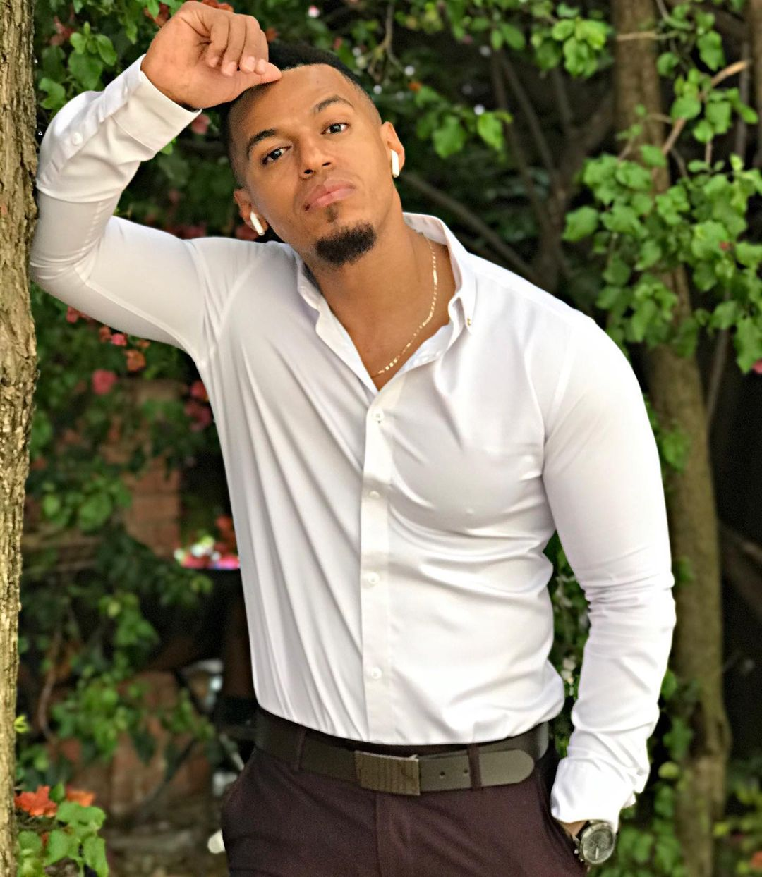 Skeem Saam actor Cedric Fourie (Lehasa Maphosa) disappoints ladies with his small private part, photos go viral