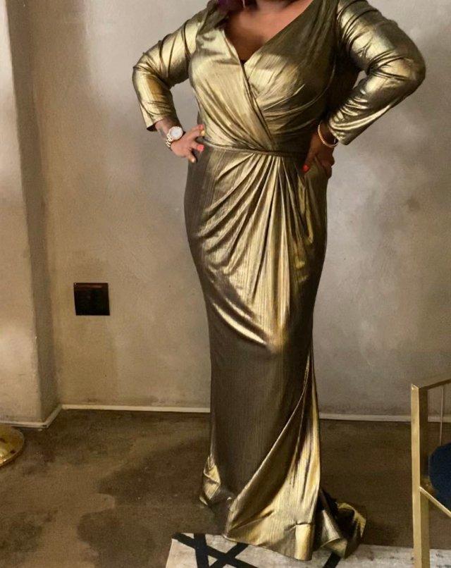 Coconut Kelz finally finds a dress after being body shamed by fashion designer Quiteria Kekana