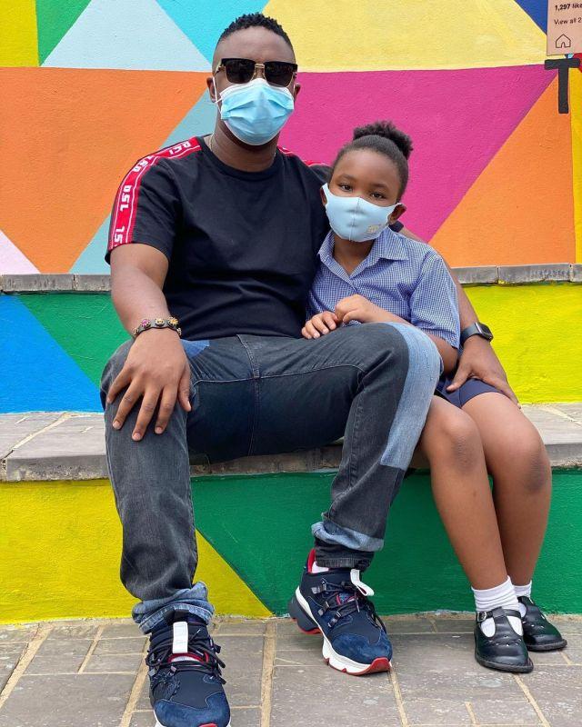 DJ Shimza Shows Off His Daughter – Photos