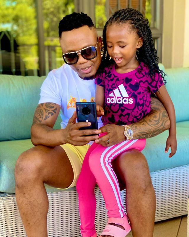 Pics: DJ Tira celebrates his daughter Chichi's 6th birthday