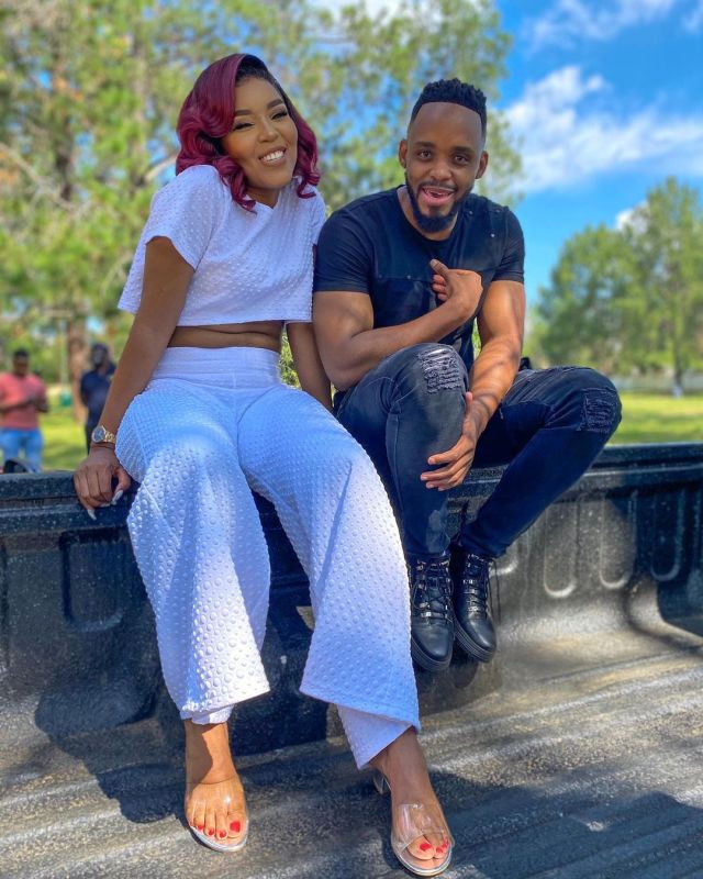 Watch: Cici and Donald fuel dating rumours with their flirting Tik Tok Video