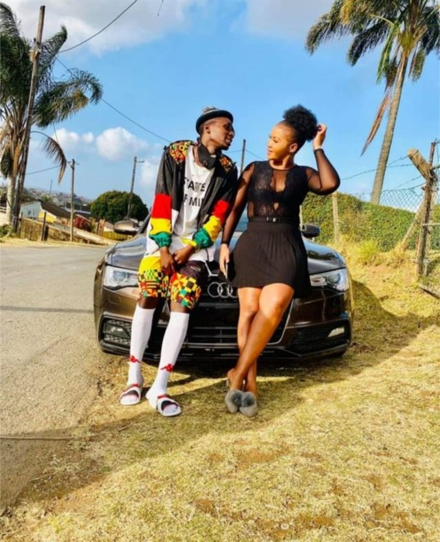 Rapper Duncan reveals his gorgeous girlfriend