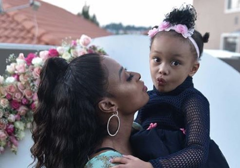 DJ Zinhle And Daughter, Kairo Forbes Partners For Eye-Glass Brand