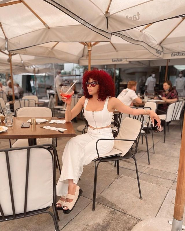 Mzansi celebs flaunt their red hair as Valentine approaches