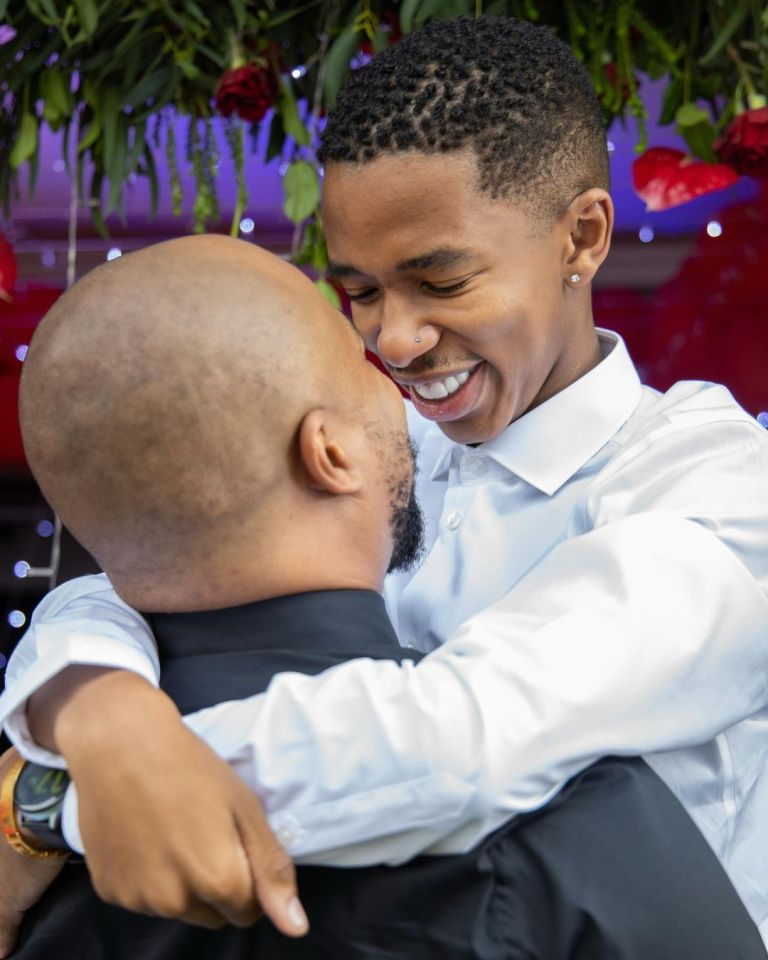 Sweet Moments: Lasizwe is happy to be loved