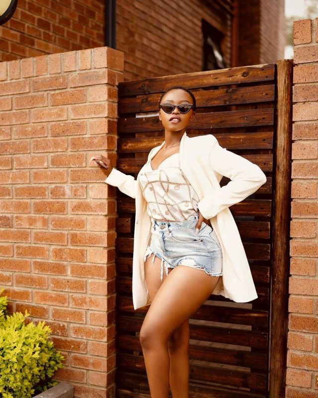 Actress Lungelo Mpangase gives back to the community