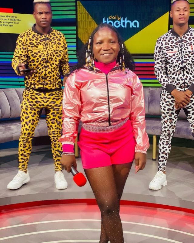 Blow for Makhadzi as her popular dancers Limpopo Boy and Skoropo ditch her
