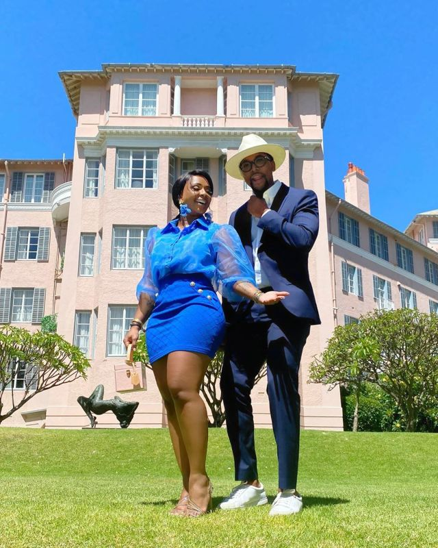 Boity and Maps Maponyane wedding on the cards