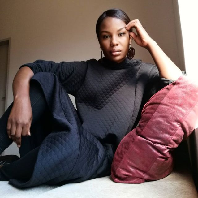 Watch: Actress Mona Monyane And Her Mini Me Dance To Beyonce's Black Is King