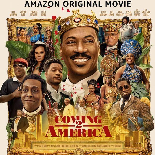 Mzansi Reacts To Nomzamo's Coming To America 2 Trailer