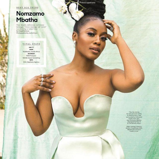 Nomzamo Mbatha Named Hollywood's Next Big Thing