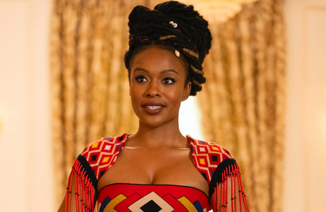 Actress Nomzamo Mbatha opens up on her journey to stardom and her role on Coming 2 America