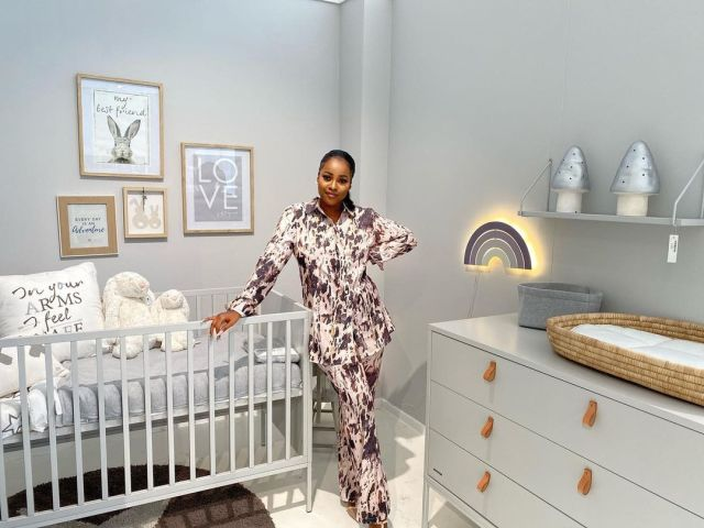 Watch: Omuhle Gela builds a cute nursery for her daughter