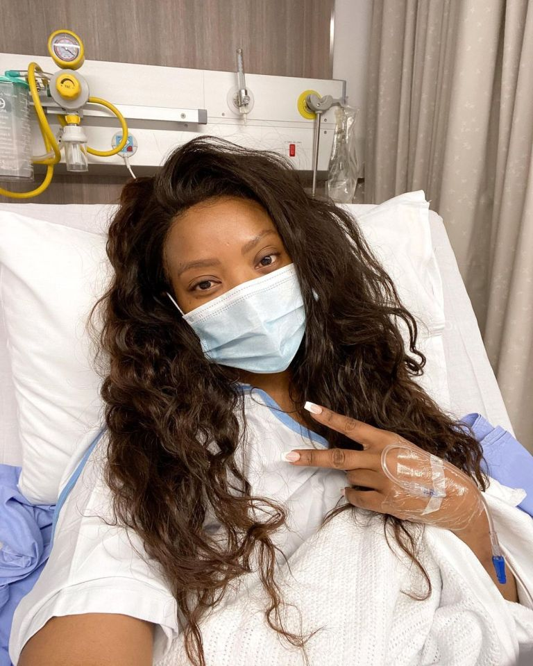 Well wishes messages pour in for Pearl Modiadie