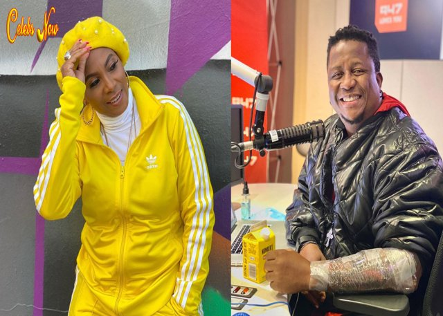 DJ Fresh dragged to court by ex-lover Penny Lebyane