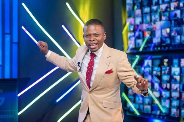 Prophet Bushiri celebrates