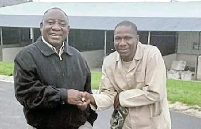 President Ramaphosa's farm worker takes him to court after he was fired for missing work for 2 days