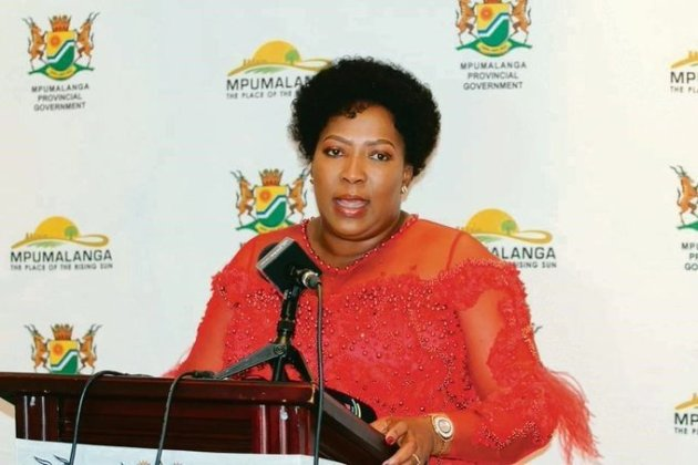Mpumalanga Premier Refilwe Mtsweni-Tsipane reshuffles cabinet