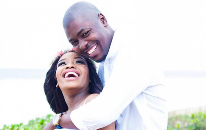 Actress Zinhle Mabena's husband lodges application to have protection order against him set aside