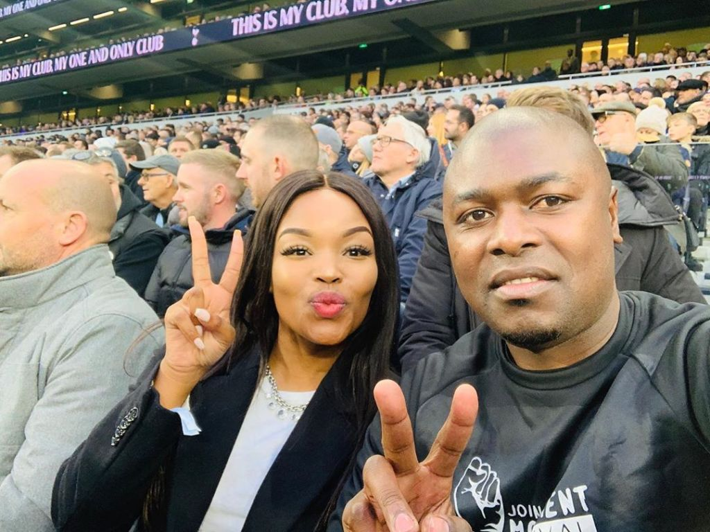 Isibaya actress Zinhle Mabena's husband finally responds