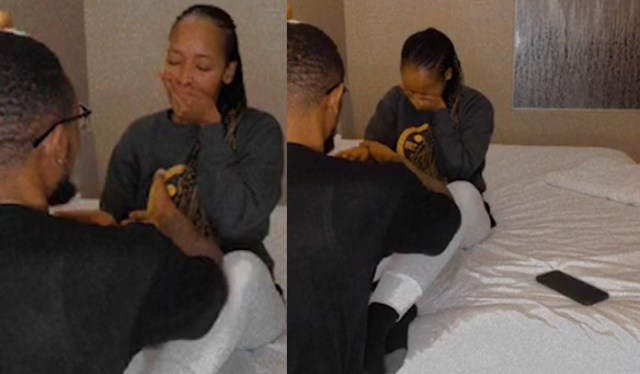 Watch: SK Khoza's Fiancé Ayanda Hlongwane Star Struck After Meeting Connie Ferguson