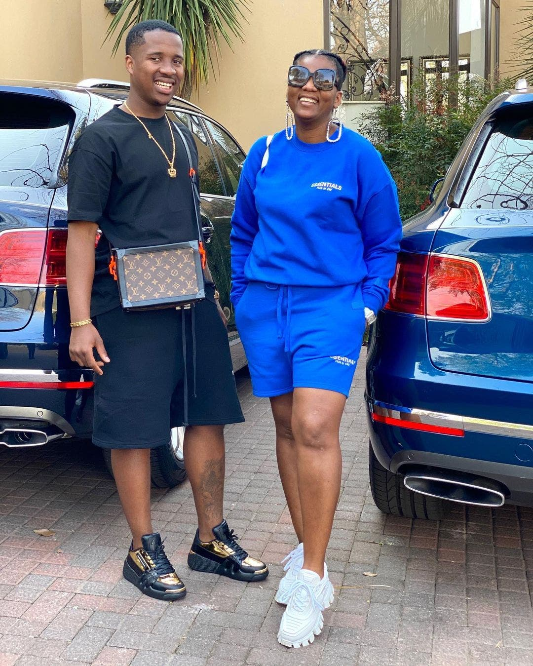 Shauwn Mkhize hits back at people making fun of her son Andile Mpisane