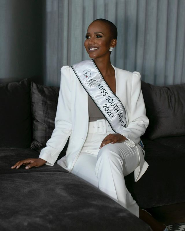 Miss South Africa, Shudufhadzo Musida spends quality time with her family