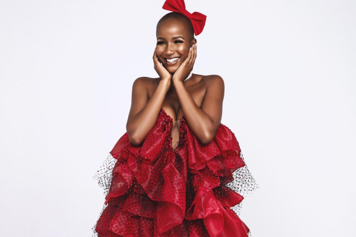 Miss SA Shudufhadzo Musida Kicks Off The Valentine Mood With Breath