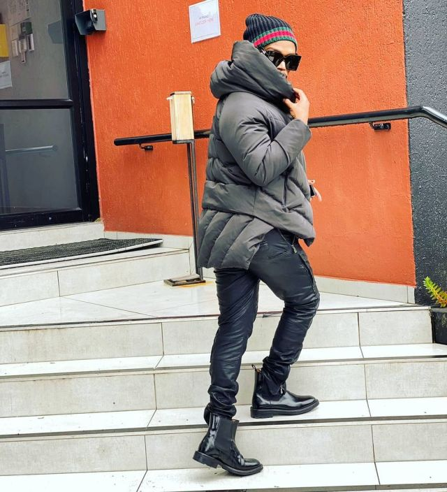 Somizi appreciates his friends for supporting his new sneaker business